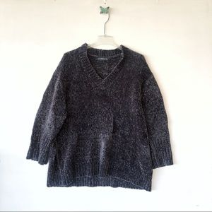 Zara knit oversized chunky sweater  sz small